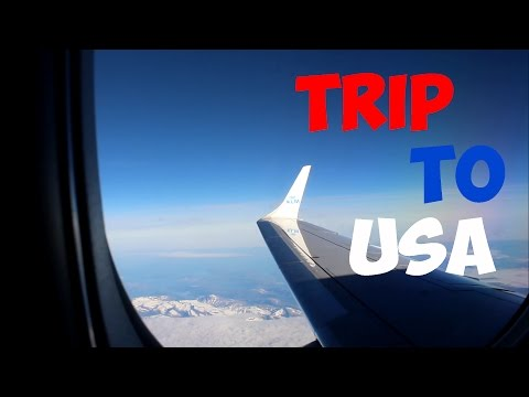 VLOG | TRIP TO USA #1 face reveal??!!