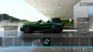 Forza 6 - Parts and Tune - B Class 1999 Lotus Elise - Short Tracks