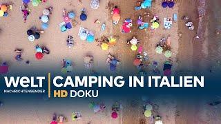 Der größte Campingplatz Italiens - Man spricht Deutsch!   Doku