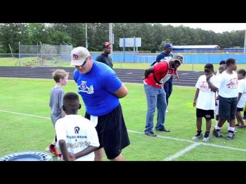 Charleston Football Camp 2013