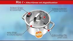 Abgießen leicht gemacht: Fleischtopf Rio i von Schulte-Ufer