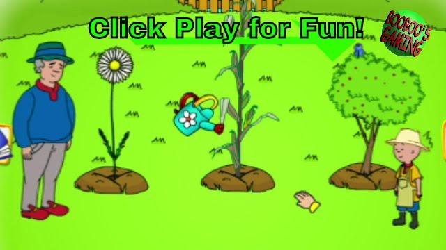 Caillou The Gardener / #PBSKids / Free Online Childrenu0027s Games