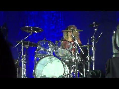 Tori Kelly: Drum Solo Battle - Unbreakable Tour (Washington DC 4/23/16)
