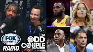 The Odd Couple - Will ESPN's Story Hurt The Lakers in Free Agency?