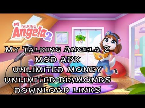 My Talking Angela | MOD APK V4 0 8 316 | Unlimited Money