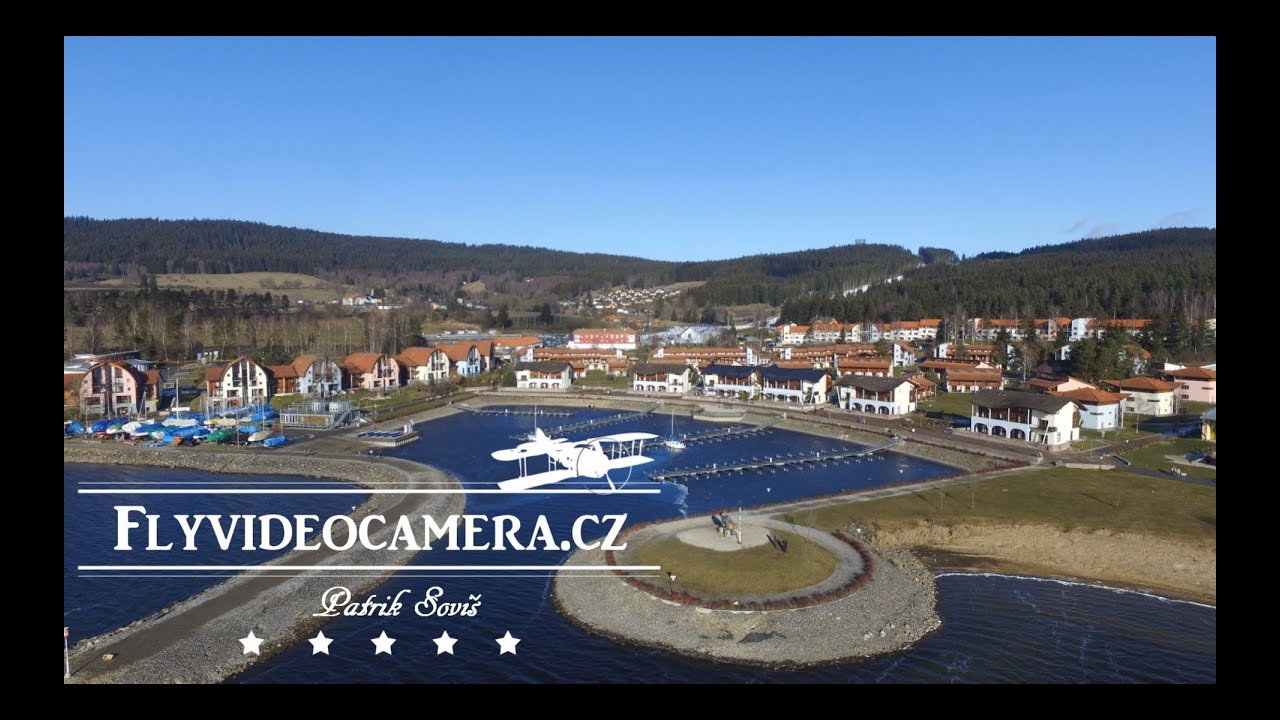 Dji Phantom 3 Professional >> LIPNO nad Vltavou, Czech Republic - YouTube