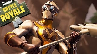 THIS SKIN comes from the FUTURE! - Fortnite Gameplay English