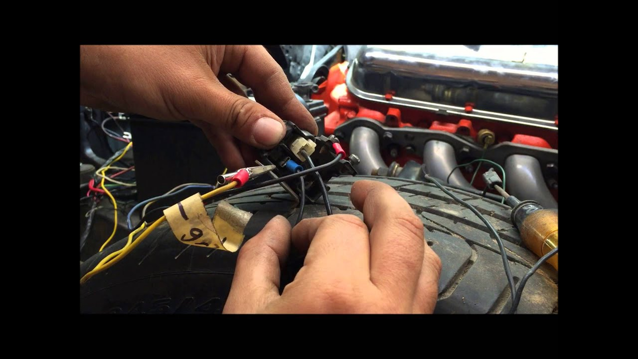 How To Test Gm Mechanical Horn Relay Chevelle A Body Youtube 1957 Chevy Wiring Harness Diagram For