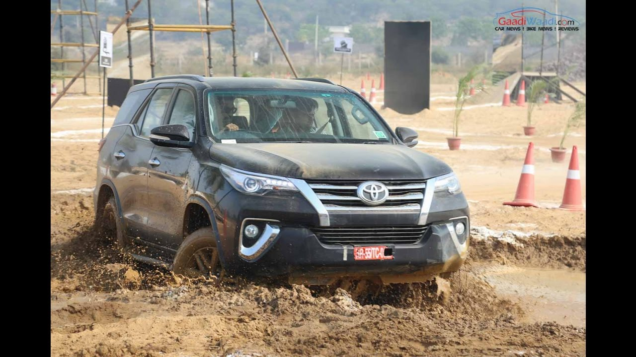 New Toyota Fortuner Off Road Drive Review Youtube
