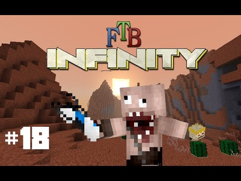 Minecraft: FTB Infinity: Farming Stations & Infusion Altars! (Part 18) (Dutch Commentary)