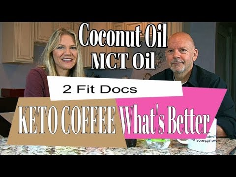 Keto Coffee With Mct Oil Vs Coconut Oil Youtube