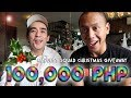 Giving 1 Subscriber 100,000 PHP for Christmas! | Vlog #270