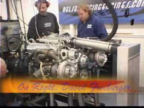 """F Bomb"" Camaro Engine by Nelson Racing Engines.  Hot Rod Magazine views Tests.  NRE."