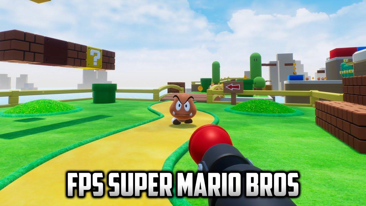 ⭐ FPS Super Mario Bros - The Super 1-1 Challenge - 4K 60FPS