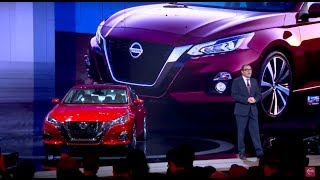 LIVE reveal of the All-New 2019 Nissan Altima!