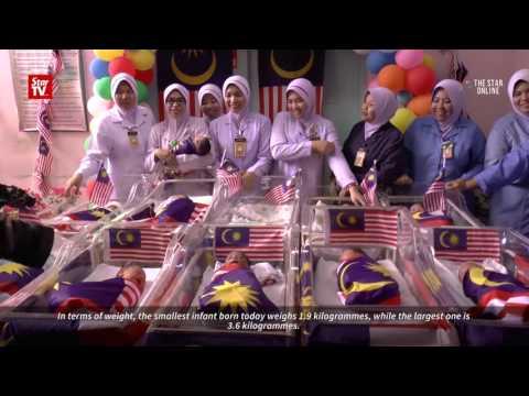 Hospital Kuala Lumpur welcomes 20 Merdeka babies