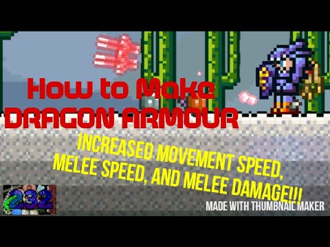 How To Make Dragon Armour In Terraria Youtube Terraria is removing ocram and 30. how to make dragon armour in terraria