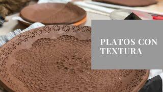 Platos con textura