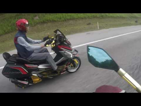 Yamaha Nmax 155 - Nmax Malaysia Lemang To'Ki ride 23-10-2016