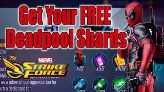 Marvel Strike Force - Get Your FREE Deadpool Shards