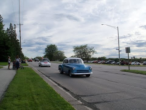 2017 Cool Car Cruise Manitowoc to Two Rivers WI