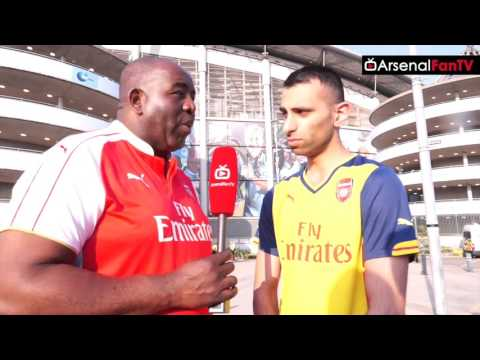 Arsenal 2-2 Man City (Away) | Arsenal Fans Fighting Is Embarrassing says Moh