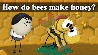 How do bees make honey? | #aumsum #kids #education #science #learn