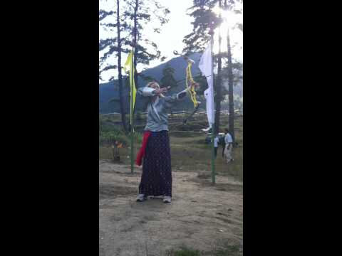 "Bhutan Majestic Travel - National Sport of Bhutan ""Archery"""