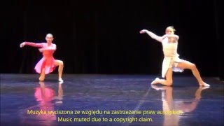 Julia Piwońska, Julia Jurek - modern duos juniors - 7 miejsce