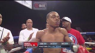 Errol Spence Jr. (pro debut) vs Jonathan Garcia - Full fight