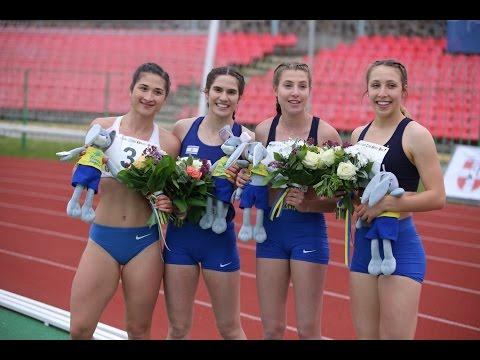 Israel Break Women's 4x100 m Relay NU20R – Lutsk 2017