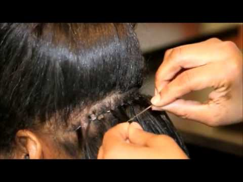 The Malaysian Hair Weaving Technique
