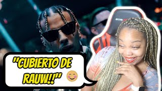 Rauw Alejandro ft. Lary Over - Cubierto de Ti (Video Oficial) | REACTION 🔥😍🤪