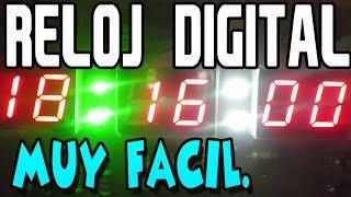 Como hacer un reloj digital con PIC (bien explicado)