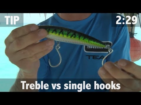 TREBLE HOOKS VS SINGLE HOOKS