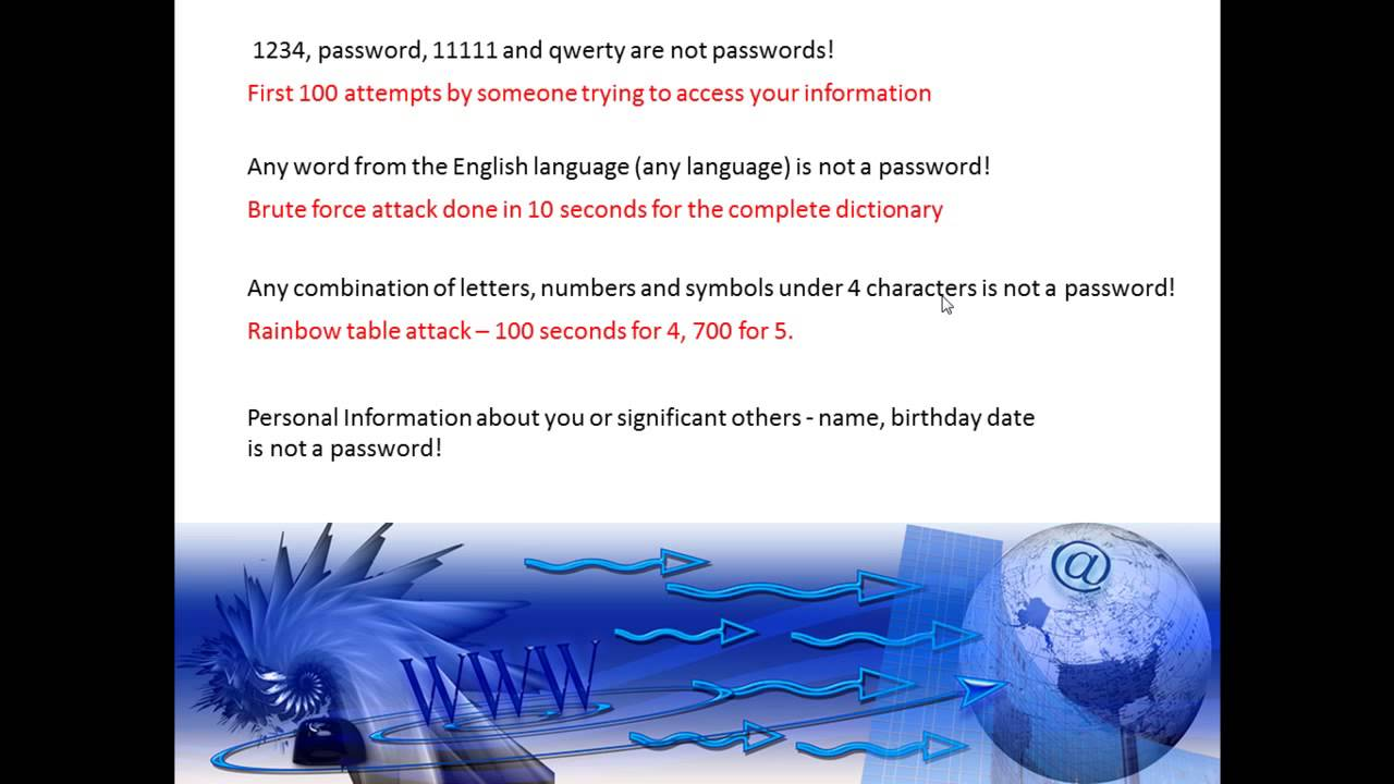 Unit 1 what is a password youtube unit 1 what is a password buycottarizona Images