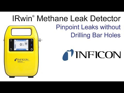 IRwin Methane Leak Detector | Pinpoint Leaks without Drilling Bar Holes