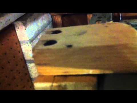 Garage Door track modification