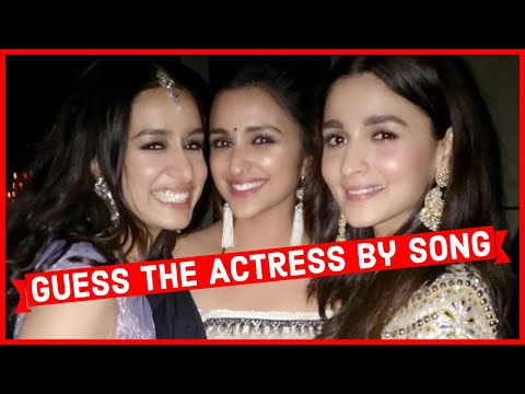 Guess the Actress By Song   Bollywood   Ready For the Challenge