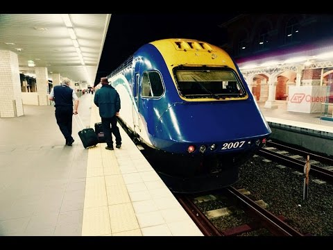 Sydney to Brisbane Train Journey on NSW TrainLink XPT Vlog