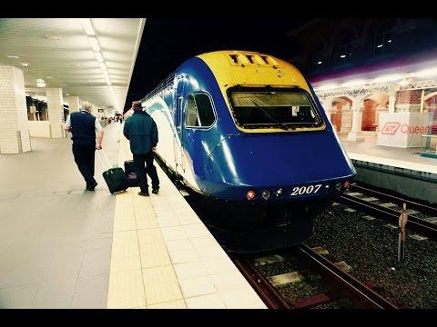 Sydney to Brisbane Train Journey on NSW TrainLink XPT Vlog