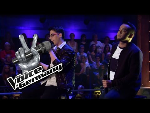 Gangsta's Paradise - Coolio | Robert vs. Marco Cover | The Voice of Germany 2016 | Battles