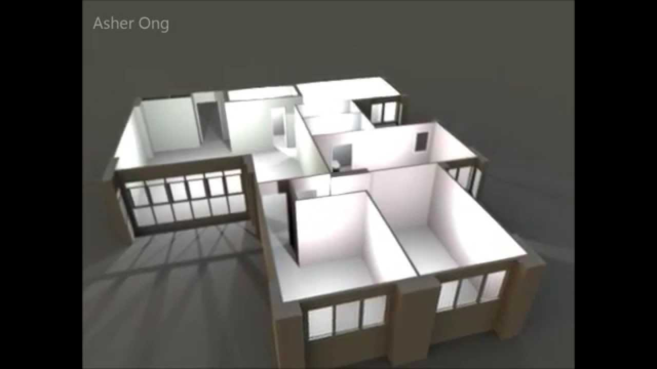5 Room Hdb 5i Model Jurong West 3d Floor Plan Typical Layout Youtube