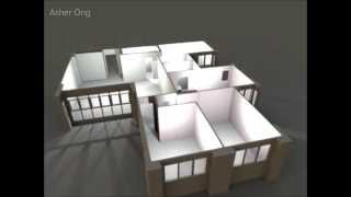 5 Room Hdb, 5i Model Jurong West, 3d Floor Plan, Typical Layout