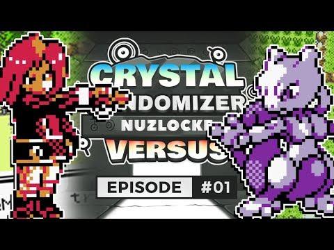 LEGENDARY!? Pokemon Crystal Randomizer Vs Episode 1 W/Tony Daddi
