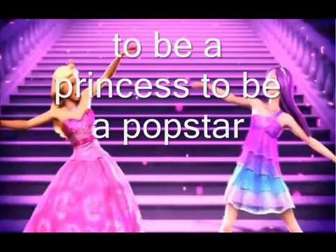 The princess and the popstar lyric song