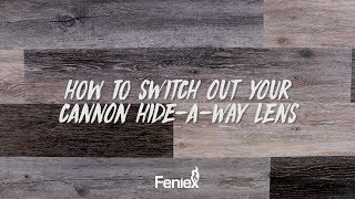 Feniex Flash // How to Switch Out Your Cannon Hide-A-Way Lens
