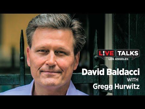 David Baldacci in conversation with Gregg Hurwitz at Live Talks Los Angeles