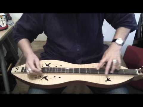 How to play Case Of You on dulcimer - Chris While