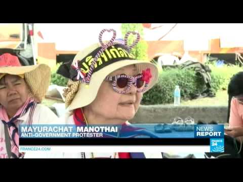 Thailand: FRANCE 24 meets Buddha Isara, holy man and anti-government protests' leader
